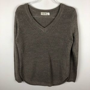 RD Style Beige Knit Sweater Size XS